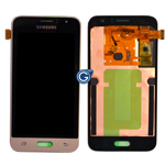 Samsung SM-J120 Galaxy J1 (2016) Lcd module and touchpad in Gold - GH97-18224B