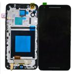 Genuine Google Nexus 5X, LG Nexus 5X H791  Complete LCD with digitizer and front cover unit black- Part code: ACQ88485511