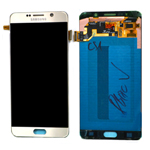 Genuine Samsung SM-N920 Galaxy Note 5 Complete Lcd with Digitizer in Gold-Samsung part no: GH97-17755A