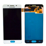 Genuine Samsung Galaxy A3 2016 (SM-A310F) Complete Display Lcd with Touchscreen in White- part no :GH97-18249A