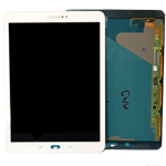 Genuine Samsung SM-T815,T810 Galaxy Tab S2 Complete Lcd with Touchscreen in White- Samsung part no: GH97-17729B