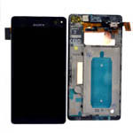 Genuine Sony Xperia C4 (E5303) Complete Lcd with Digitizer Touchscreen in Black-Sony part no: A/8CS-59160-0001