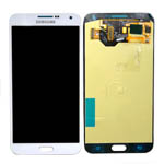 Genuine Samsung SM-E700 Galaxy E7 Complete Lcd with Digitizer Touchscreen in White-Samsung part no: GH97-16942A