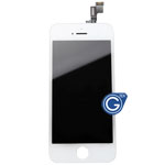 iPhone 5s Complete Lcd and Digitizer Assembly in White (High Quality)