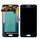 Genuine  Samsung SM-G355H Galaxy Core 2 Complete Front with LCD and Touchscreen in Black- Samsung part no: GH97-16070B
