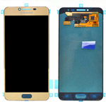 Genuine Samsung Galaxy C5 Lcd and touchpad in Gold - GH97-19116A