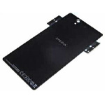 Genuine Sony C6603 - Xperia Z Back Panel Assy Black C6603 Glass + NFC Antenna - Part no 1272-2162