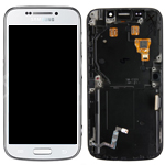 Samsung SM-C101 Galaxy S4 Zoom - Complete Front, Lcd screen and touchpad in white - P/N: AD97-23817A