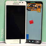 Genuine Samsung Galaxy A3 (SM-A300) Lcd and touchpad in white - Samsung part no: GH97-16747A