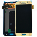 Genuine Samsung Galaxy S6 (G920F) Lcd and digitiser in Gold - Part number: GH97-17260C