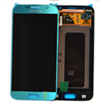 Genuine Samsung Galaxy S6 lcd and touchpad in Electric Blue- part no:GH97-17260D