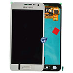 Genuine Samsung Galaxy A3 (SM-A300) Lcd and touchpad in Silver - Samsung part no: GH97-16747C