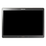 Genuine Samsung SM-T800 Galaxy Tab S 10.5 Titanium Silver MEA Complete Lcd Unit Assembly with Touchpad and Frame- Samsung part no: GH97-16028A