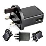 Genuine Sony E-800 Usb Mains Charging Adapter UK 3Pin