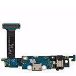 Genuine Samsung SM-G920F Galaxy S6 - Flex Board Micro USB Connector + Microphone f. Gold + Blue - Samsung part no : GH96-08275B;GH96-08587B