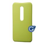 Motorola G3 Battery Cover in Green