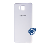 Samsung Galaxy Alpha SM-G850F Battery Cover in White (HQ)