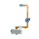Samsung Galaxy S6 Edge SM-G925 Home Button with Flex Cable in Black