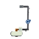 Samsung Galaxy S6 Edge SM-G925 Home Button with Flex Cable in White