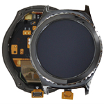 Genuine Samsung SM-R732 Gear S2 Classic Complete Display Lcd with Digitizer Touchscreen in Black-Samsung part no: GH97-18012A