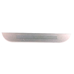 Genuine HTC One (M8) Housing Bottom Cover in Silver/White- HTC part no: 74H02635-00M;74H02680-00M