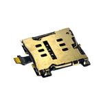 Genuine HTC One (M7) Sim Card Reader Flex-Cable- HTC part no:50H20522-51M