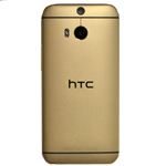 Genuine HTC One M8s Back/Battery Cover in Gold (Grade B)