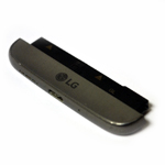 Genuine LG H850 G5 Loudspeaker, Mic, Charging Port Housing Bottom Cover Module in Titan Grey- LG part no: ACQ88888083 (Grade A)