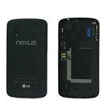 Genuine LG E960 Nexus 4 Back Cover in Black- LG part no: ACQ86231209 (Grade A)