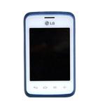 Genuine LG L20 Mid Full Screen Assembly White/Blue (Grade C)