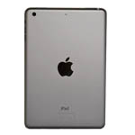 Genuine Apple iPad Mini 3 Rear Cover Housing in Space Grey A1599 (Grade A)