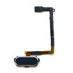 Genuine Samsung SM-G920F Galaxy S6 Home Button Flex-Cable Complete in Black- Samsung part no:GH96-08166B (Grade A)
