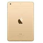 Genuine Apple iPad Mini 3 Rear Cover Housing in Gold A1599 (Grade A)
