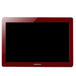 Genuine Samsung Galaxy Tab 2 P5100 P5110 P5113 Complete LCD with Digitizer Toouchpad in Red (Grade A)