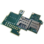 Genuine Sony Xperia M (C1905) Sim/Memory Card Reader Flex- Sony part no:311NIK2603E