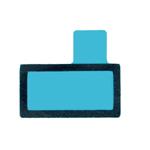 Genuine Sony Xperia Z5 (E6653) Adhesive Foil f. Loudspeaker Buzzer- Sony part no:1295-1191