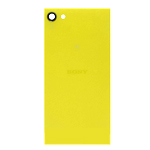 Genuine Sony Xperia Z5 Compact (E5803) Battery Cover in Yellow- Sony part no:1295-4898