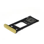 Genuine Genuine Sony (F5121) Xperia X SIM Tray Cap (Single SIM) in Lime-Sony part no: 1302-4832