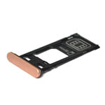 Genuine Sony F5121 Xperia X SIM Tray Cap (Single SIM) in Rose-Sony part no: 1302-4833