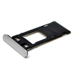 Genuine Sony Xperia X Performance (F8131) Sim Card Tray in White-Sony part no:1302-3709