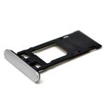 Genuine Sony Xperia X Performance (F8131) Sim Card Tray in White-Sony part no:1302-3709