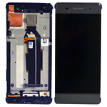 Genuine Sony Xperia XA (F3111), Sony Xperia XA Dual (F3112) Complete Lcd with Digitizer in Black-Sony part no: 78PA3100010