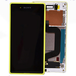 Sony D2202  Xperia E3 Front Cover with touchscreen and LCD display LIME- Sony part no: A/8CS-59080-0005