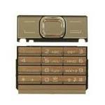Keymat Numeric Assy Latin Gold N8800 Atre - Nokia 8800 Arte Part number: 9790A93