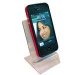 Single Acrylic display Clear Tansparent for 1 mobile phone. High quality Acrylic