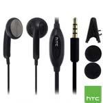 Genuine HTC Remote Handsfree Headset (Black) - 36H00824-03M for New HTC Models