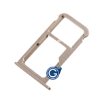 HuaWei P9 Sim Card Holder Tray in Gold