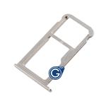 HuaWei P9 Sim Card Holder Tray in Silver