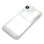 Genuine Samsung GT-i9000 Rear Case with Camera Lens in White - GH98-16686B