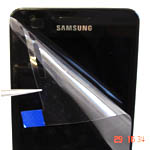 Samsung i9100 Galaxy S2  Clear film for Lcd, Refurbishing Protective film to fit on lcd
